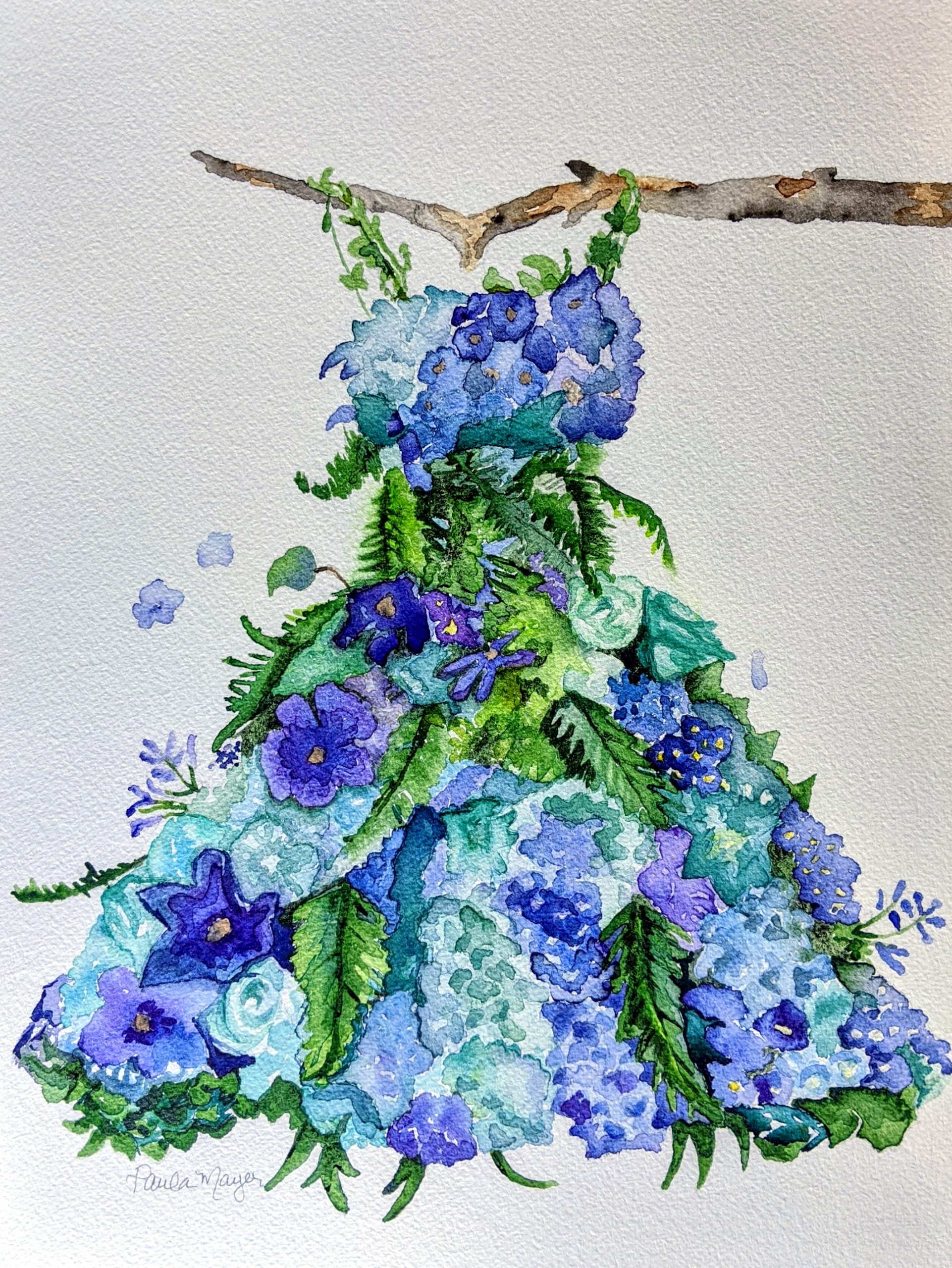 Watercolor Artist. Commissions available
